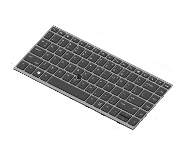 HP L14377-251 notebook spare part Keyboard