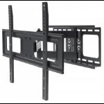 "Manhattan TV & Monitor Mount, Wall, Full Motion, 1 screen, Screen Sizes: 37-65"", Black, VESA 200x200 to 600x400, Max 50kg, LFD, Tilt & Swivel with 3 Pivots, Lifetime Warranty"