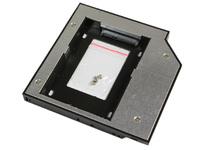 "MicroStorage KIT336 2.5"" Black,Metallic HDD/SSD enclosure"