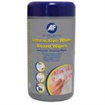 AF INTERACTIVE WHITEBRD PK100 WIPES
