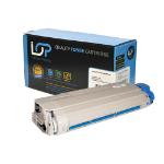 Click, Save & Print Remanufactured Oki 44059211 Cyan Toner Cartridge