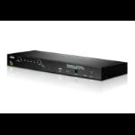 Aten CS1708A KVM switch Rack mounting Black