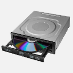 Lite-On iHAS124 optical disc drive Internal Black,Stainless steel DVD±RW