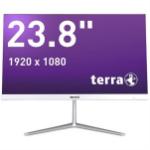 "Wortmann AG TERRA 2400 Greenline 60.5 cm (23.8"") 1920 x 1080 pixels 8th gen Intel® Core™ i3 8 GB DDR4-SDRAM 256 GB SSD Windows 10 Wi-Fi 5 (802.11ac) All-in-One PC Black, Silver"