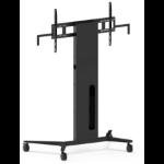 Vision VFM-F40/WXL flat panel floorstand Portable flat panel floor stand Black
