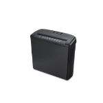 Ednet S-5 paper shredder Strip shredding 21.8 cm Black
