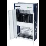lockncharge LNC10294 portable device management cart/cabinet Portable device management cabinet Black,White