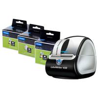 DYMO LabelWriter 450 + 3x labels box label printer Thermal transfer