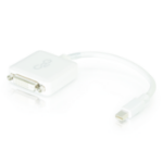 C2G 20cm Mini DisplayPort M / DVI F Mini DisplayPort M DVI-D Single Link F White cable interface/gender adapter