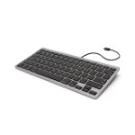 Griffin XB38326 Lightning QWERTY Grey mobile device keyboard