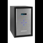 Netgear ReadyNAS 628X Ethernet LAN Desktop Black, Silver NAS