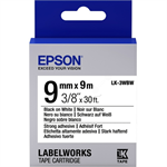 Epson C53S653007 (LK-3WBW) Ribbon, 9mm x 9m