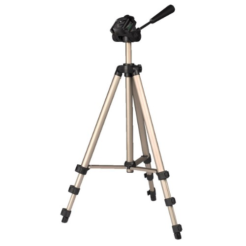 Hama Star 75 Digital/film cameras 3leg(s) Black,Silver tripod