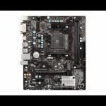 MSI A320M-A PRO MAX motherboard AMD A320 Socket AM4 micro ATX