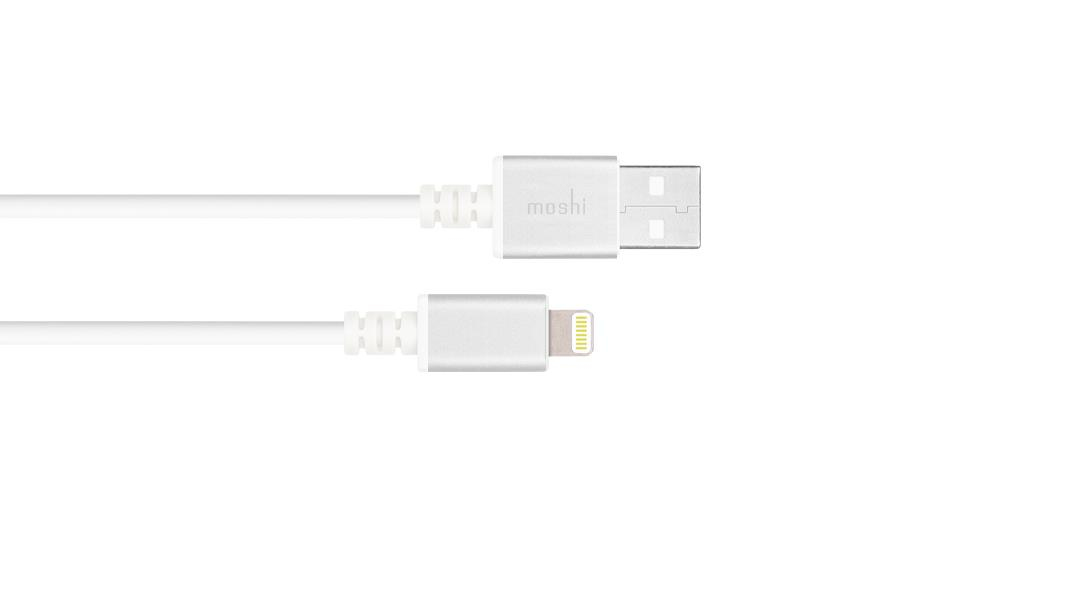 Moshi 99MO023118 mobile phone cable USB Cable with Lightning Connector (3 m) - Silver