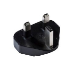 Honeywell 50103452-001 Type D (UK) Black power plug adapter