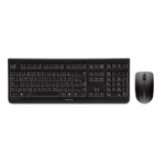 CHERRY DW 3000 keyboard RF Wireless QWERTY US English Black