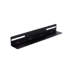 LinkBasic 19' L Rail for 450mm Deep Cabinet only - Black - Comes In Single not Pair
