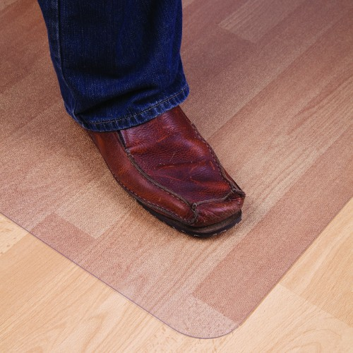 Floortex 118923ER furniture floor protector mat Transparent Polycarbonate