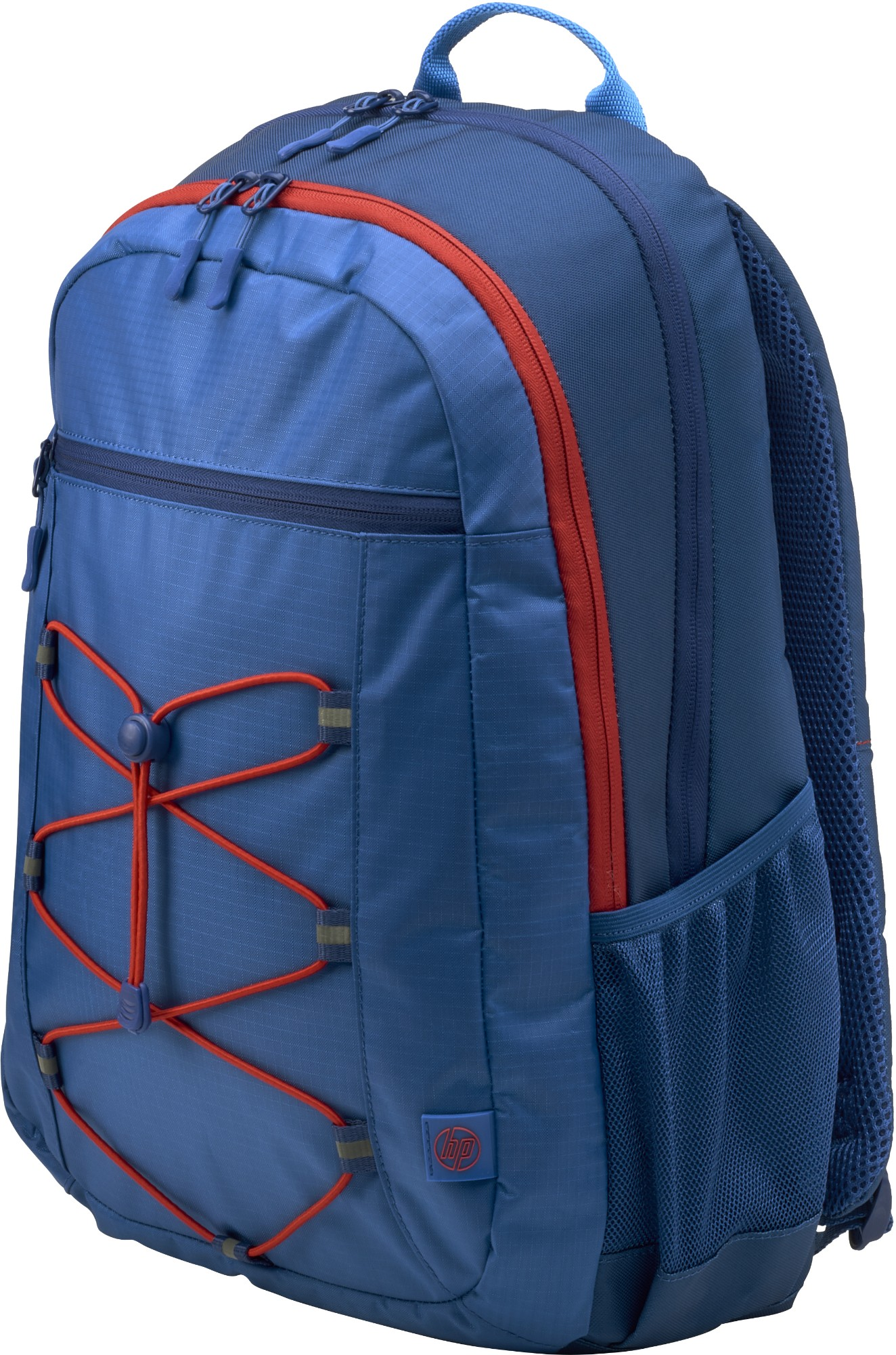 HP Active Marine Blue/Coral Red backpack Fabric Blue,Red