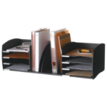 FastPaper Fast Paper Desktop Organizer 8 Comp Black DD