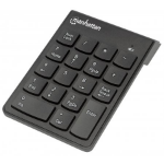 Manhattan 178846 numeric keypad RF Wireless Notebook/PC Black