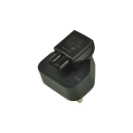 2-Power ALT1056A electrical power plug Black