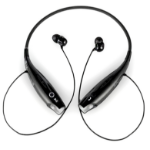Inland 87089 headphones/headset Neck-band Black