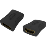 Vision TC-HDMIFF cable gender changer HDMI-A Black