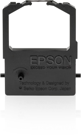 Epson SIDM Black Ribbon Cartridge for LQ-100 (C13S015032) printer ribbon