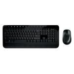 Microsoft Wireless Desktop 2000 RF Wireless Pan Nordic Black keyboard
