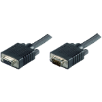 Microconnect MONGH15B VGA cable 15 m VGA (D-Sub) Black