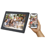 "Denver PFF-1513BLACK digital photo frame 39.6 cm (15.6"") Touchscreen Wi-Fi Black"