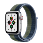Apple Watch SE 40 mm OLED 4G Silver GPS (satellite)