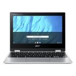 "Acer Chromebook CP311-3H-K5GD 11.6"" 1366 x 768 pixels Touchscreen MediaTek 4 GB LPDDR4x-SDRAM 64 GB Flash Wi-Fi 5 (802.11ac) Chrome OS Silver"