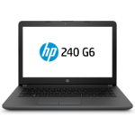"""HP 240 G6 Notebook Black 35.6 cm (14"""") 1366 x 768 pixels 7th gen Intel® Core™ i3 4 GB DDR4-SDRAM 500 GB HDD Wi-Fi 5 (802.11ac) Windows 10 Pro"""