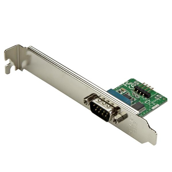StarTech.com Adaptador 0,6m Header Cabezal Bracket Serie Serial DB9 RS232 a USB Interno de Placa Base