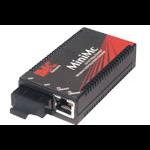 B&B Electronics MiniMc, TP-TX/FX-MM1300-SC network media converter 100 Mbit/s