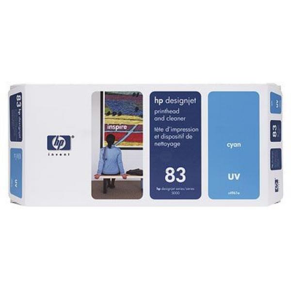 HP C4961A (83) Printhead cyan, 13ml