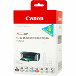 Canon 6384B010 (CLI-42) Ink cartridge multi pack, 8x13ml, Pack qty 8