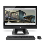 "HP Z1 3.3GHz Intel Xeon E3-1245 with Intel HD Graphics P3000 (3.3 GHz, 8 MB cache, 4 cores) 27"" 2560 x 1440pixels Black"