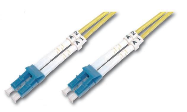 Digitus DK-2933-02 cable de fibra optica 2 m LC Amarillo