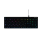 Logitech G810 USB QWERTY UK English Black keyboard