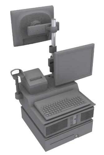 HP rp5800 Integration Tray Assembly