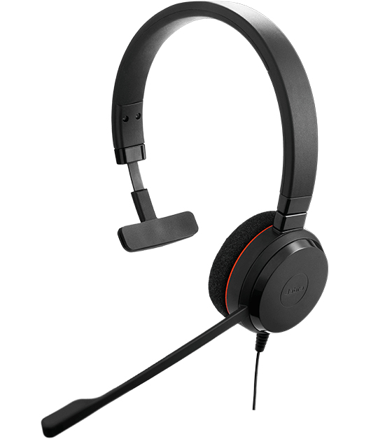 Jabra Evolve 20SE MS Mono Monaural Head-band Black headset