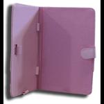 Leader Electronics Tab7 Folio Case Pink Faux Leather. Camera hole rear