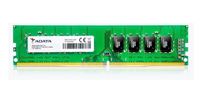 ADATA Premier memory module 4 GB DDR4 2400 MHz