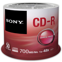 Cd-r Media Cdq80sp 700MB 80min 48xspd 50pk Spindle