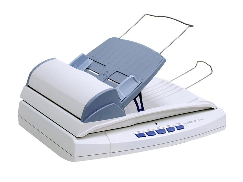 Plustek SmartOffice PL806 Flatbed & ADF scanner 600 x 600DPI A4 White