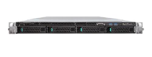 Intel R1304WTTGSR server barebone Intel® C612 LGA 2011-v3 Rack (1U) Black,Metallic